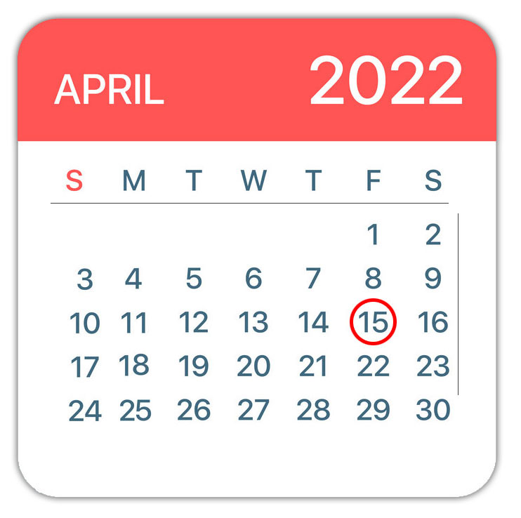 The due date for filing a 2016 return is Tuesday, April 18, 2017. This ...