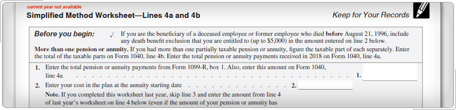 Top Part Of Simplified Method Worksheet Annuity At Mspartnersco: Annuity Worksheet At Alzheimers-prions.com