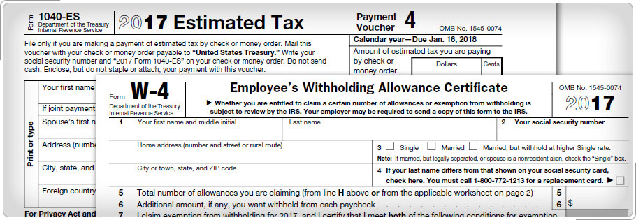 Irs Estimated Tax Payment Coupons 2018 Gaia Freebies Links